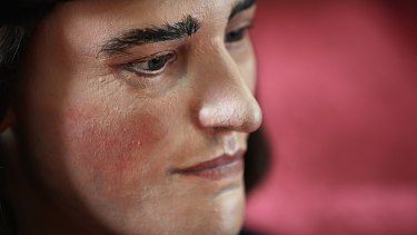 Behold, the king ... A facial reconstruction of King Richard III is unveiled following the discovery of his skeleton, 500 years after his gruesome death.