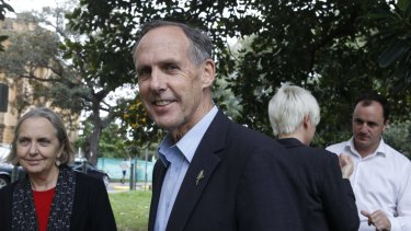"Bob Brown, pictured with Senator Rhiannon in Sydney in 2011, has described her as a ""wrecker""."