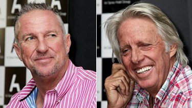 Sir Ian Botham and Jeff Thomson … not used to keeping their opinions to themselves.