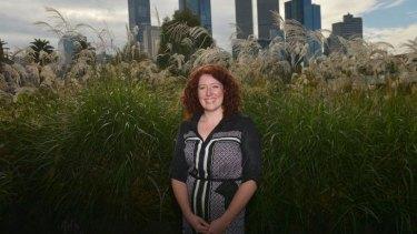 Jane Harper, winner of the Victorian Premier's Literary award for an unpublished manuscript.