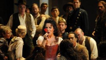 Carmen electric: Nancy Fabiola Herrera as Bizet's fiery gypsy.