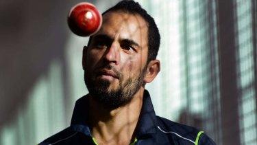 Pakiston-born leg-spinner Fawad Ahmed