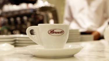 Brunetti's is back on Lygon Street.