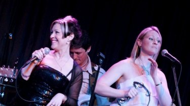 Natalie Kisbee (RIGHT) also performs alongside her mother in a Country Divas music show.