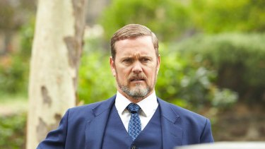 Craig McLachlan as Lucien Blake in The Doctor Blake Mysteries.