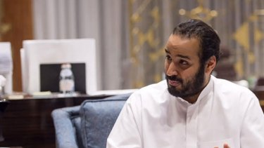 Man with a plan: Mohammed Bin Salman, Saudi Arabia's Deputy Crown Prince.