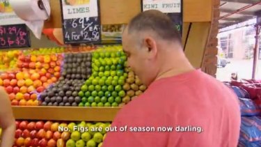 I'm not your darling, greengrocer man.