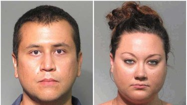 George and Shellie Zimmerman ....  both sued for failing to pay credit car bills.