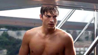'You can't keep that up' ... Ashton Kutcher on his new look.