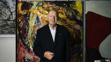 Enthusiast: Colin Laverty helped to lift the profile of contemporary Aboriginal art.