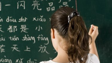 """Premier Daniel Andrews says he wants  to see more children learning a second language, but """"there might be smarter ways to do it"""" than a mandated goal."""