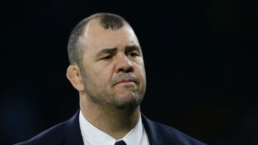 Under fire: Michael Cheika.