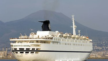 Italian cruise ship MSC Melody used used guns and a firehose to repel a pirate attack off the east African coast.