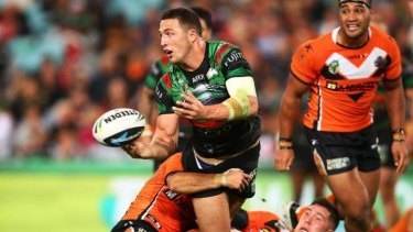 Sam Burgess is hoping to represent England at the 2015 Rugby World Cup.