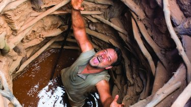 Russell Crowe as Joshua Connor in the film <i>The Water Diviner</i>.