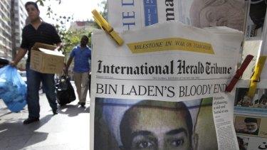 Bin Laden's demise ... the world's biggest story.
