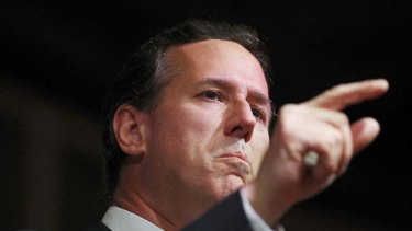 """""""This is not a firearms issue, it is a human issue"""" ... Rick Santorum."""