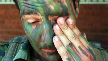 It can be difficult to make the transition from soldier to civilian.