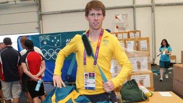 Young gun ... Australian modern pentathlon competitor Ed Fernon.