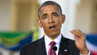 Barack Obama's annual income is $US400,000 ($A436,000).