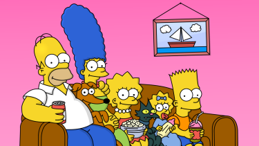 A Ten spokesperson confirmed that Fox shows, like The Simpsons, will not play on the network 'at this stage'.