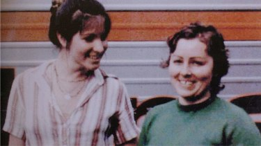 Sydney nurses Lorraine Wilson and Wendy Evans about a month before they were murdered in 1972.