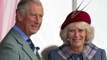 Prince Charles and the Duchess of Cornwall.