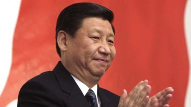 Elite family ... Chinese Vice-President Xi Jinping, anointed as the next president.