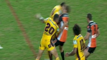 """""""On advice from the NRL, Ben is the first player to face this charge in the NRL. Ben will be entering a plea of not guilty. The Brisbane Broncos totally support Ben and will do all they can to assist him"""" ...  Andrew Gee, Brisbane general manager of football operations."""