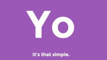 """The Yo app says """"yo"""". That's it."""