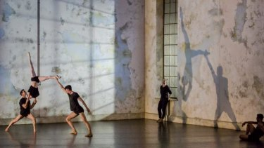 The Sydney Dance Company's interpretation of Frame of Mind at Canberra Theatre.