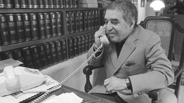 Gabriel Garcia Marquez: served as an intermediary between rebels and the government in his native Colombia.
