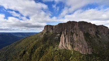 Mount Oakleigh, near the Overland Track, last week.