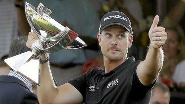 Reversal of fortune: Henrik Stenson, of Sweden has claimed the biggest pay cheque in golf.