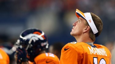 Reliable: Quarterback Peyton Manning will again be the spearhead for the Denver Broncos.