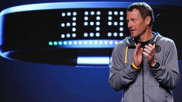 Disgraced ... Lance Armstrong.