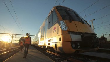 Platform: Downer EDI expects a high level of cash to be freed from the Waratah train construction program.