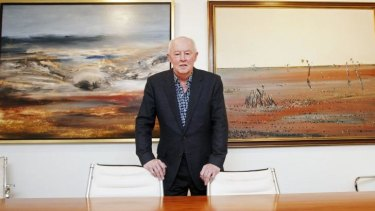 Bill Bowness rose from a working class background and overcame a childhood stutter to become a millionaire property developer. He has just made a $1 million donation to University of Queensland, where he studied.