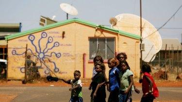 Children of Yuendumu, 300 kms northwest of Alice Springs.