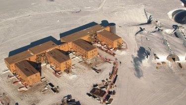 Amundsen–Scott South Pole Scientific Station.