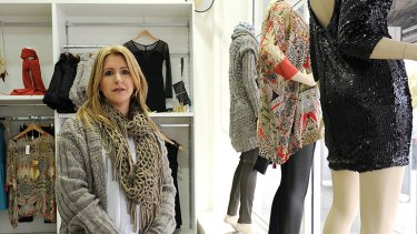 Tina Savva had to close her childrenswear store and reopen as a ladies' boutique.