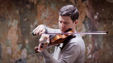 Transparency and strength: Canadian violinist James Ehnes.