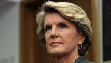 """""""A new approach is needed and that's what I'm determined to deliver."""": Julie Bishop."""