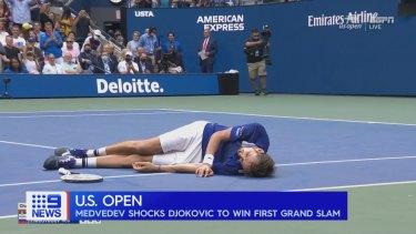 Daniil Medvedev has won the US Open in New York, denying Novak Djokovic a calendar year Grand Slam