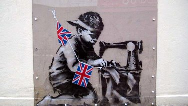 """The Slave Labour Banksy belongs to the people of Haringey not to a wealthy private client""."