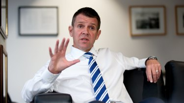NSW Premier Mike Baird says the original UBS report did not take into consideration the 'broad economic benefit' of electricity privatisation.
