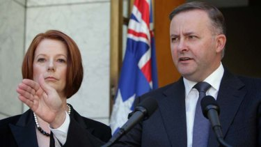 Determined ... Anthony Albanese has taken a firm stance on the north-west rail link.