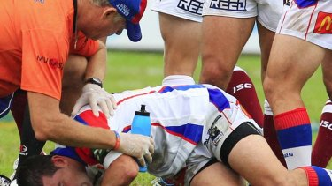 """Rugby league is a pretty safe sport"" ... NRL chief medical officer Ron Muratore."