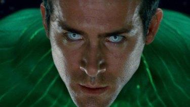 Ryan Reynolds as the Green Lantern.