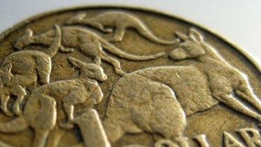 Australian dollar coin.
